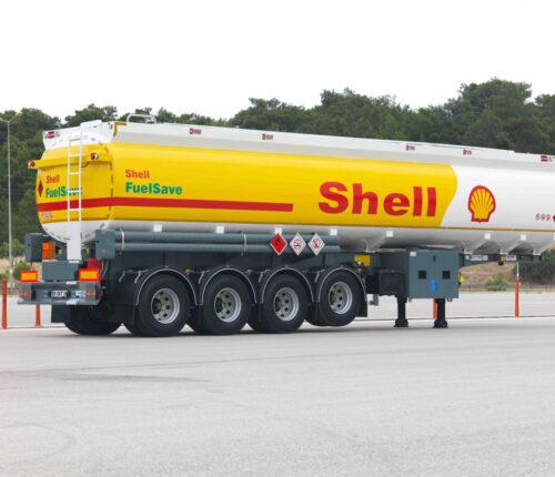 Citerne Carburant 4 essieux