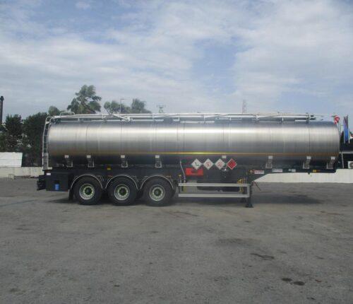 Citerne INOX JET 3 essieux