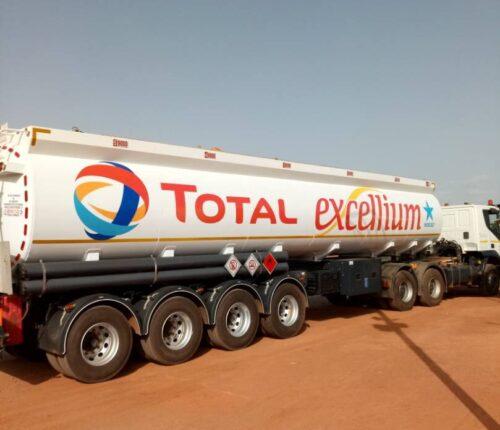 Fuel Tanker 4 axles