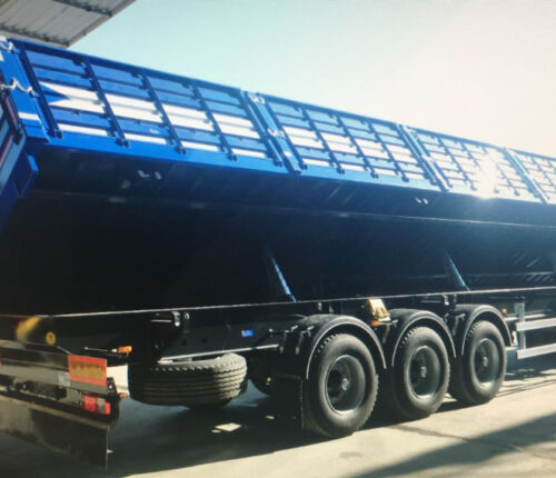 Side Tipping Cargo Trailer