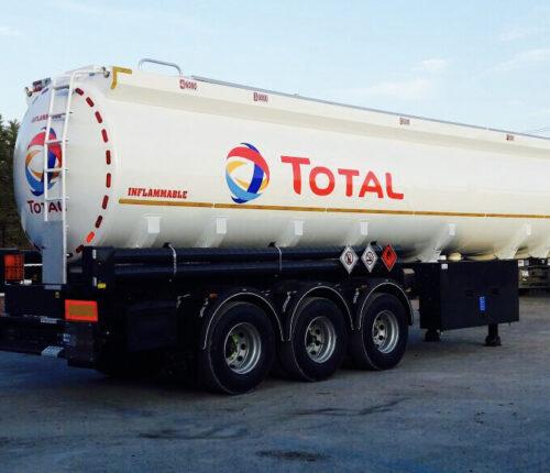 Citerne Carburant Cylindrique 3 essieux